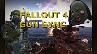 FALLOUT 4 Gun Sync: Snakes in tracksuits - Gopnik Mcblyat
