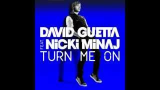 David Guetta - Turn Me On (Feat. Nicki Minaj) (Almost Original Acapella) (Re-upload)