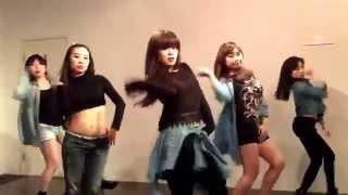 포미닛(4MINUTE)미쳐(CRAZY) DANCE COVER PRACTICE②