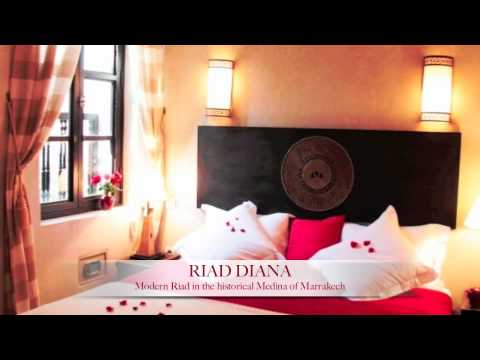 Riad Diana – Marrakech – Modern Riad in the historical Medina of Marrakech