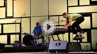 These dudes absolutely demolish 'Great Balls of Fire' at talent show