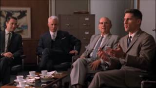 Il cliente NON ha sempre ragione - scena tratta da Mad Men 4x01