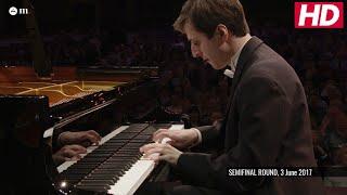 #cliburn2017 SEMIFINAL CONCERTO - Kenneth Broberg - Mozart: Piano Concerto No. 25 in C Major