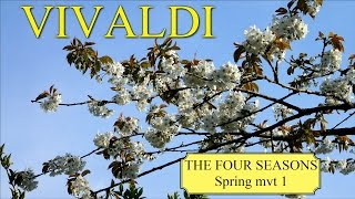 "VIVALDI The Four Seasons Spring ""La primavera"" mvt 1 - Classical Music HD"