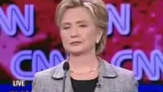 Hilary clinton farts on live T.V