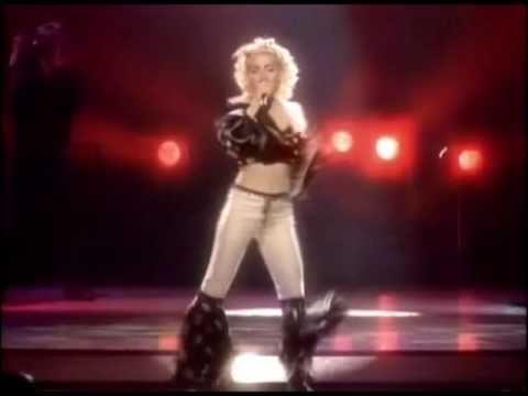 madonna-holiday-blonde-ambition-tour-themadonnatours