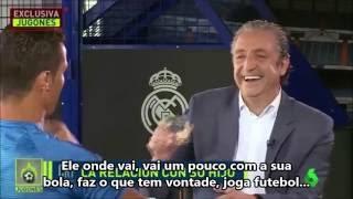 Cristiano Ronaldo revela o que seu filho diz sobre o Messi quando chega em casa!