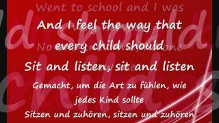 Gary Jules - Mad world(LYRICS+üBERSETZUNG)