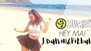 ZUMBA Hey Ma - J Balvin ft. Pitbull ft. Camila Cabello / Zumba® Fitness Choreo