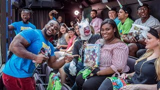 The New Day takes over a New York City tour bus!
