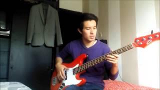 Pirañas - Si vuelvo a verte(versión acústica) | Nicolas Vasco (Cover Bass)
