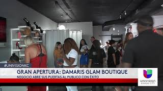 DAMARIS GRAND OPENING
