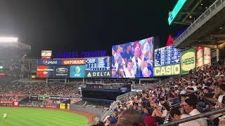 Tommy Kahnle Enters to Shinsuke nakamura WWE Theme (Subway Series 2017)