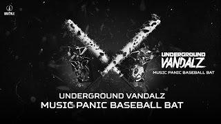 Underground Vandalz - Music Panic Baseball Bat (Brutale 031)