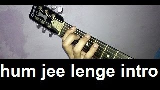 "how to play ""hum jee lenge"" intro - murder 3"
