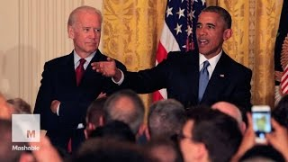 Obama shuts down heckler: 'You're in my house' | Mashable