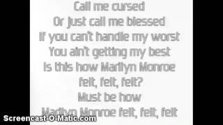 Nicki Minaj - Marilyn Monroe lyrics