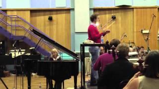 Rachmaninoff Concerto #1 Finale Live recording Session