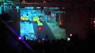 Dza - live @ DOOM, HudMo and the worst visuals party