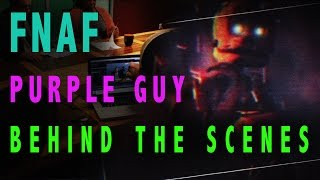 FNAF Behind the Scenes (Five Nights At Freddy's Purple Guy Iron Horse Cinema)