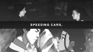 zutara + reylo || speeding cars.