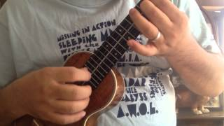 Fly Me To The Moon ukulele cover/フライ・ミー・トゥ・ザ・ムーン ウクレレソロ