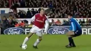 Dennis Bergkamp top 10 Arsenal Goals
