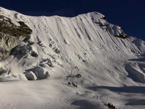 Climbing Island Peak 6189 m