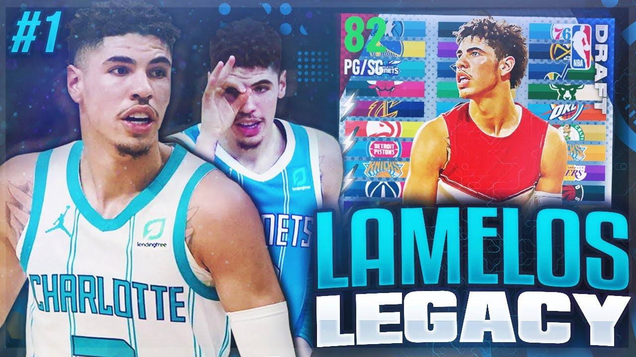 KILLZAMOI - LAMELOS LEGACY #1 - START OF NEW SERIES!! NBA 2K21 MYTEAM!!