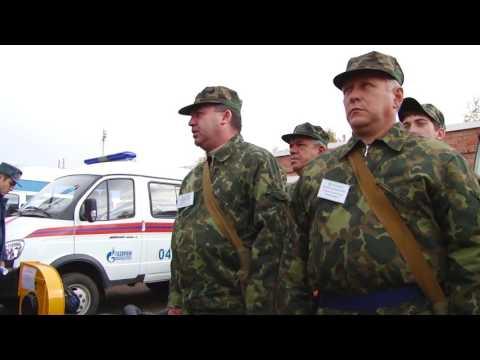 Командно - штабные учения в Куюргазинском районе 2014 год. фильм 1