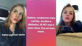 LUISA CONTA QUE FOI ROUBADA NO SHOW DO JUSTIN BIEBER