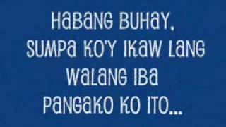 Habang Buhay by Yeng Constantino with lyrics