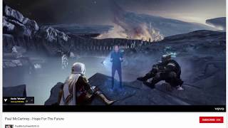 Destiny 2 Easter Egg - 'Hope for the future' in the Tower's Lounge