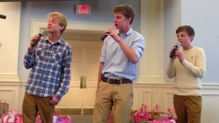 """Acappella Cover """"Now To Him"""" Parker Blue"""