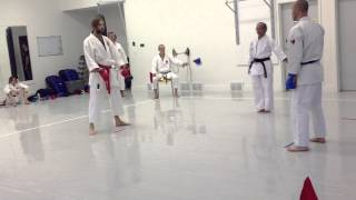Black Belt Fights: Mens' Tournament Kumite | IDSL2013 | Shotokan Karate 2013