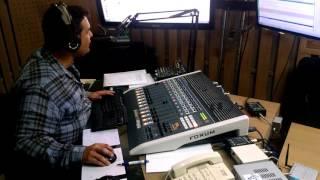 Locutor Geovane Gandra na Rádio Super