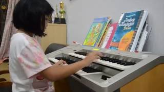 KANITA RIFDIANI   9 YO    Playing Electone STAGEA   4 Songs