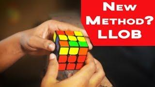 8.41 Ao5 LLOB 3x3 Rubik's Cube Method (Hybrid Roux + CFOP) | GTS2 60FPS
