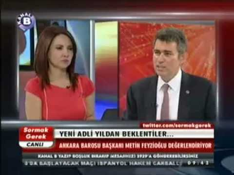 Ankara Barosu Başkanı Av. METİN FEYZİOĞLU