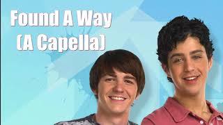 Drake Bell - Found A Way (Acapella) Drake & Josh Theme (Full Version)