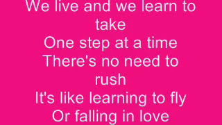 Jordin Sparks - One Step at a Time Lyrics