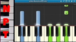 How to play Say Something on piano - A Great Big World ft. Christina Aguilera