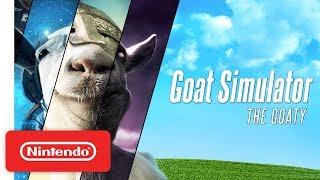 Goat Simulator: The GOATY - Launch Trailer - Nintendo Switch