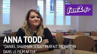 """Anna Todd : """"Daniel Sharman serait parfait en Hardin dans le film After"""""""