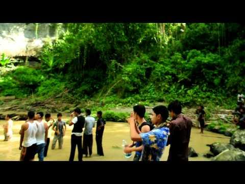 Cleaning activities at Hummum waterfalls from Travelers of Bangladesh.
