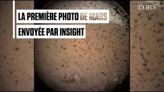 Insight se pose sur Mars et envoie une première photo