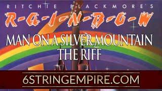 Rainbow - Man on a silver mountain - Guitar Lesson