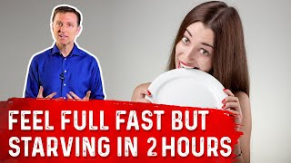 Do You Feel Stuffed But Then Hungry 2 Hours After Eating on Your Intermittent Fasting Plan?