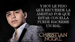 (LETRA) ¨TRANQUILA SOLEDAD¨ - Christian Nodal (Lyric Video)