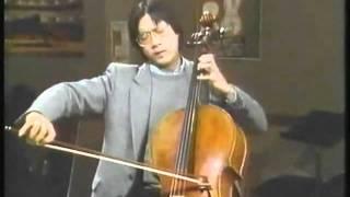YO-YO MA -- Bach´s Bourree - Suite No. 3